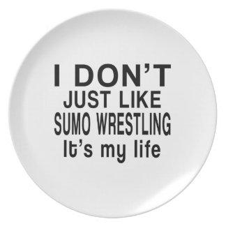 相撲レスリングは私の生命です プレート