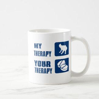 相撲レスリング私のセラピー コーヒーマグカップ