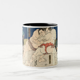 相撲レスリング1860年 ツートーンマグカップ
