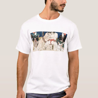 相撲レスリング1860年 Tシャツ