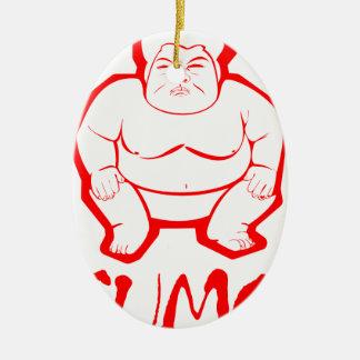 相撲 セラミックオーナメント