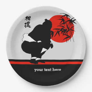 相撲 ペーパープレート
