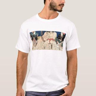 相撲、国貞のSmouのレスリング、Kunisada Tシャツ
