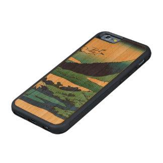 相模国のUmezawa CarvedチェリーiPhone 6バンパーケース