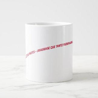 相違を想像して下さい ジャンボコーヒーマグカップ