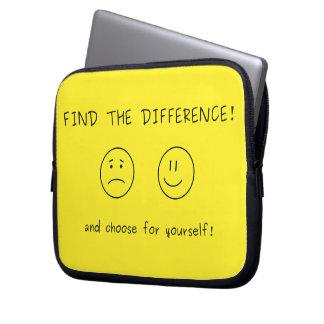 相違を見つけ、あなた自身のために選んで下さい ラップトップスリーブ