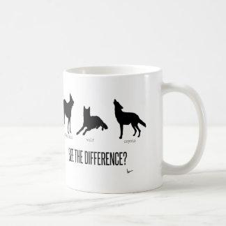 """""""相違を見て下さいか。"""" コーヒーマグカップ"""