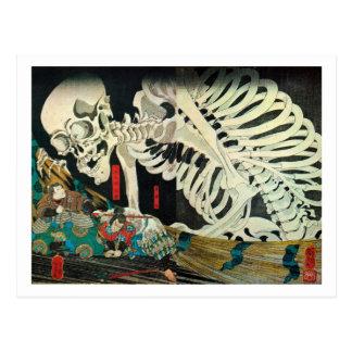 相馬の古内裏、魔法使い、Kuniyoshが処理する国芳の骨組 ポストカード
