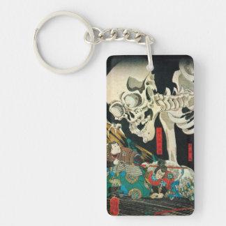 相馬の古内裏、魔法使い、Kuniyoshiが処理する国芳の骨組 キーホルダー