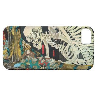 相馬の古内裏、魔法使い、Kuniyoshiが処理する国芳の骨組 iPhone 5 Cover