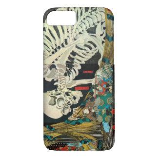 相馬の古内裏、魔法使い、Kuniyoshiが処理する国芳の骨組 iPhone 8/7ケース
