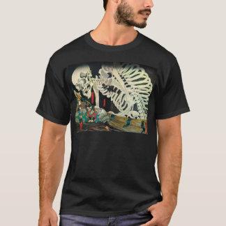 相馬の古内裏、魔法使い、Kuniyoshiが処理する国芳の骨組 Tシャツ