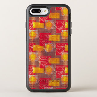 盾のオレンジおよび赤 オッターボックスシンメトリーiPhone 8 PLUS/7 PLUSケース