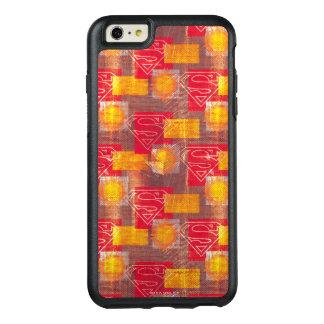 盾のオレンジおよび赤 オッターボックスiPhone 6/6S PLUSケース