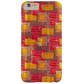 盾のオレンジおよび赤 BARELY THERE iPhone 6 PLUS ケース
