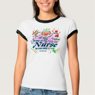 看護にそれにリングがあります Tシャツ