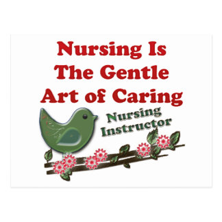 看護のインストラクター ポストカード