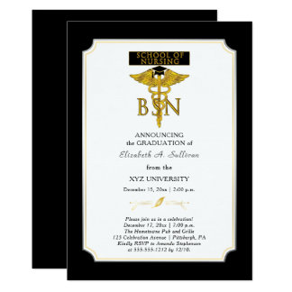 看護のナースBSNの卒業の学校 カード