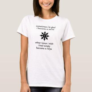看護の忍者 Tシャツ
