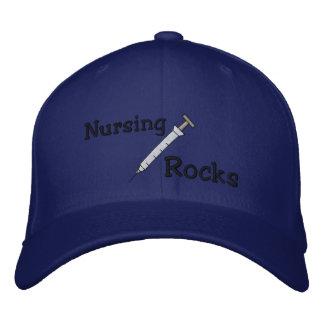 看護の石は帽子を刺繍しました 刺繍入りキャップ