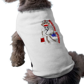 看護学生のソックス猿のギフト ペット服