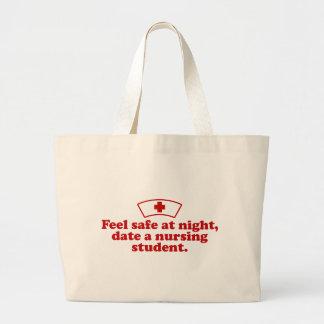 看護学生 ラージトートバッグ