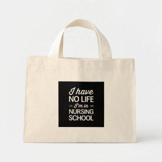 看護専門学校の生命 ミニトートバッグ