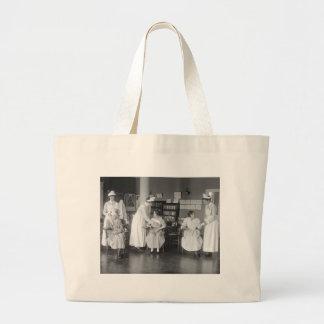 看護専門学校、早い1900年代 ラージトートバッグ