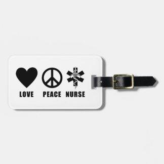 看護愛平和ナース ラゲッジタグ
