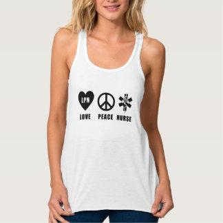 看護愛平和LPN タンクトップ
