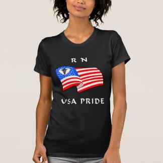 看護RN米国のプライド Tシャツ