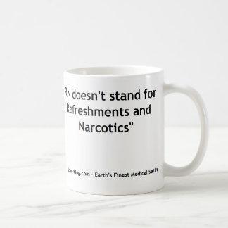 看護RN -回復および麻酔剤のマグ コーヒーマグカップ