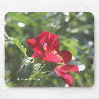 真っ赤な薔薇☆ マウスパッド