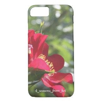 真っ赤な薔薇☆ iPhone 7ケース