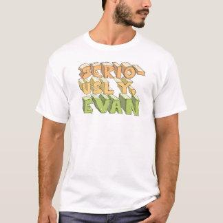 真剣に、エバン Tシャツ