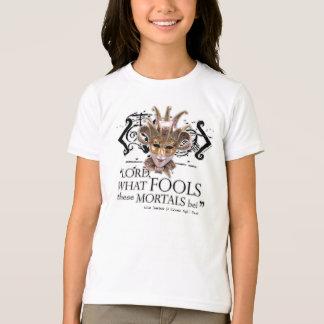 真夏の夜の夢の引用文 Tシャツ