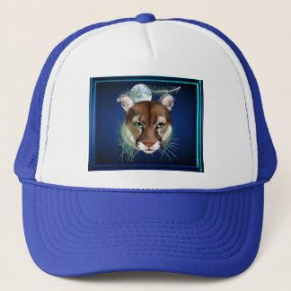 真夜中のオオヤマネコの帽子 キャップ