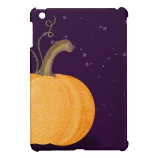 真夜中の色彩の鮮やかなカボチャ iPad MINIケース