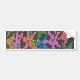 真夜中の花花束 バンパーステッカー
