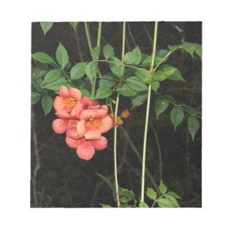 真夜中の花 ノートパッド