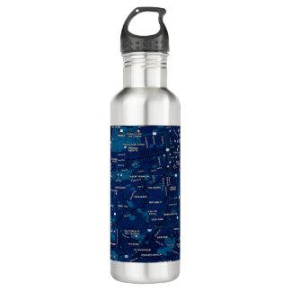 真夜中の青いタンブラー-サンフランシスコ ウォーターボトル