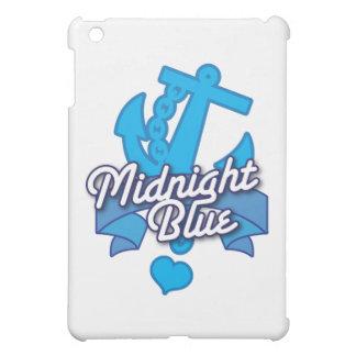 真夜中の青い海軍ロカビリーのデザイン iPad MINIカバー