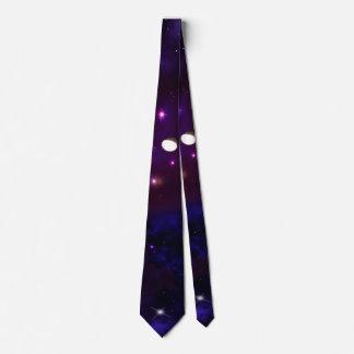 真夜中の青い紫色の銀河系 オリジナルタイ