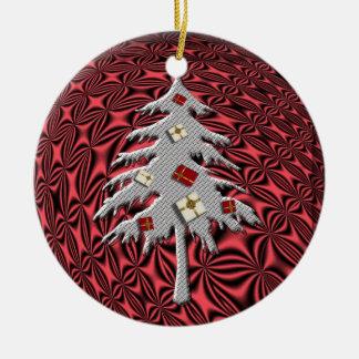 """""""真夜中の""""木ornament.*のクリスマスイブ セラミックオーナメント"""