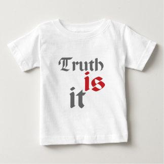 真実あそれ(白) ベビーTシャツ