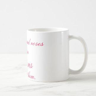 真実およびバラ コーヒーマグカップ