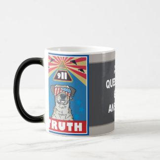 真実に目覚め、飲んで下さい モーフィングマグカップ