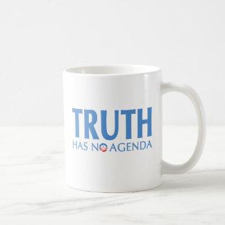 真実に議題がありません コーヒーマグカップ