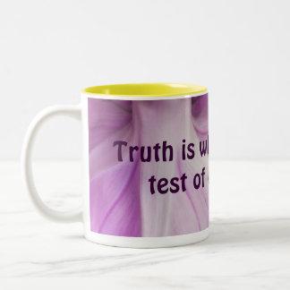 真実のマグ ツートーンマグカップ