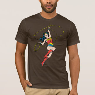 真実のワンダーウーマンの投げ縄 Tシャツ